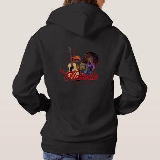 I Heart Nashville Women's Hooded Shirt