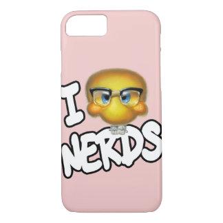 I Heart Nerds Apple iPhone 7 Case
