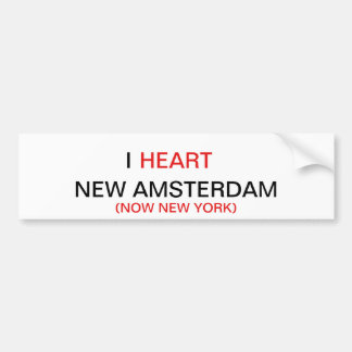 I HEART NEW AMSTERDAM STICKER