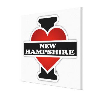I Heart New Hampshire Gallery Wrap Canvas