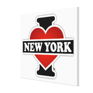 I Heart New York Gallery Wrap Canvas