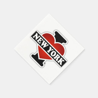 I Heart New York Disposable Napkins