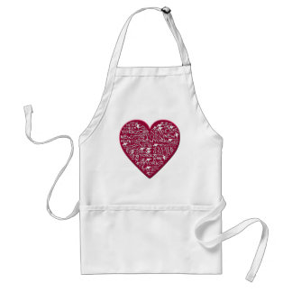 I Heart New York to Help Hurricane Sandy Relief Standard Apron