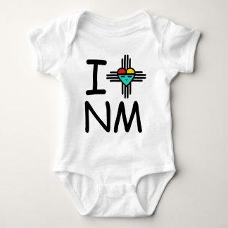 I Heart NM Baby Bodysuit