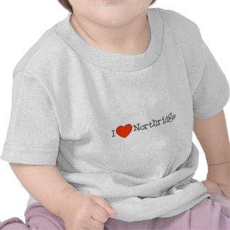 I Heart Northridge Tee Shirts