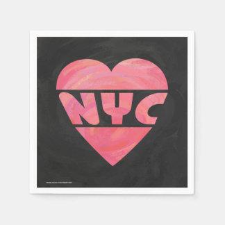 I Heart NYC Disposable Napkin