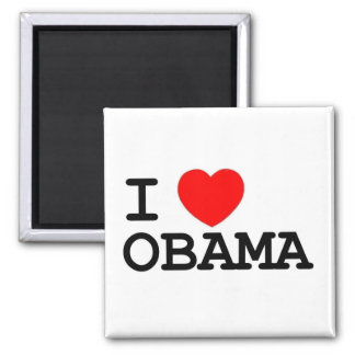 I Heart Obama Magnet