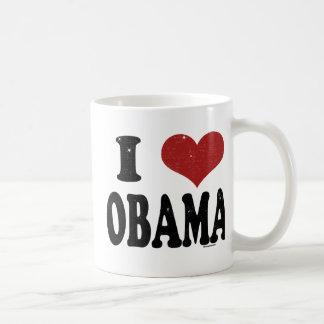 I Heart Obama Basic White Mug