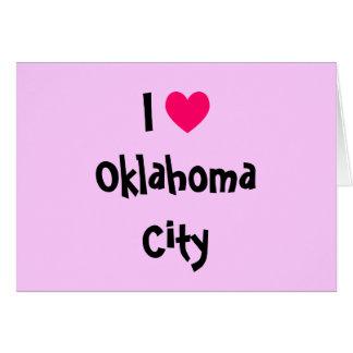I Heart Oklahoma City Card