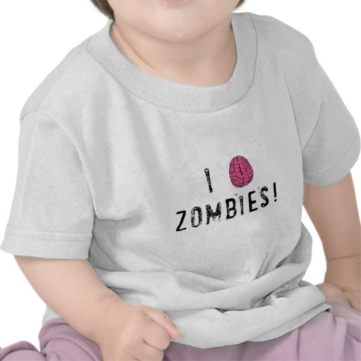 I (heart...or brain!) Zombies Shirts