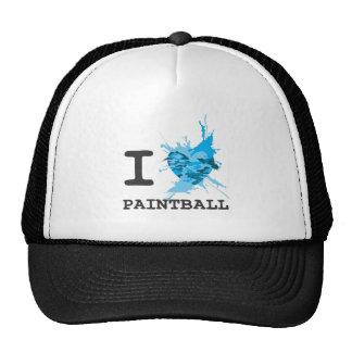 I Heart Paintball Trucker Hat