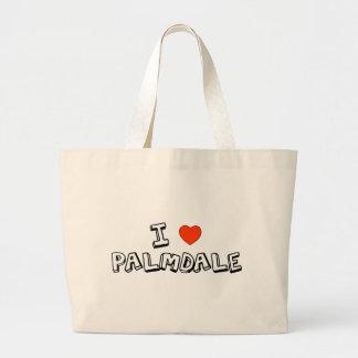 I Heart Palmdale Large Tote Bag