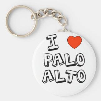 I Heart Palo Alto Keychain