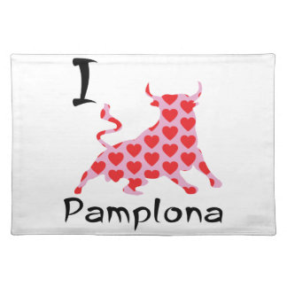 I heart Pamplona Placemat