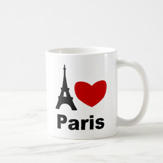 I Heart Paris Coffee Mug
