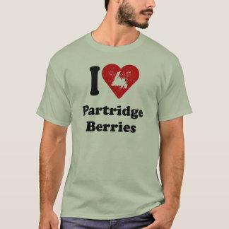 I heart Partridge Berries T-Shirt