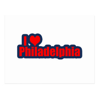 """I """"Heart"""" Philly Postcard"""