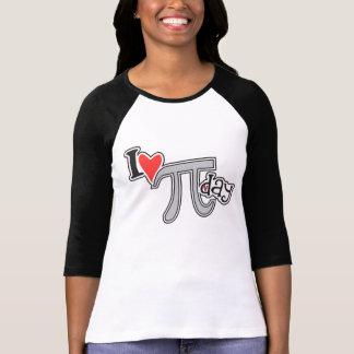 I heart Pi Day - Pi Apparel Gift T Shirt