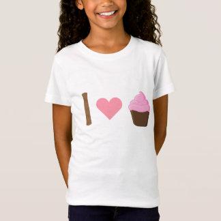 I Heart Pink Cupcakes Shirt