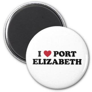 I Heart Port Elizabeth South Africa Magnet