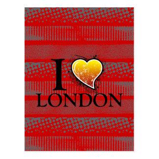 I heart postcard