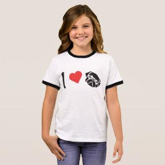 I heart Pugs Ringer T-Shirt
