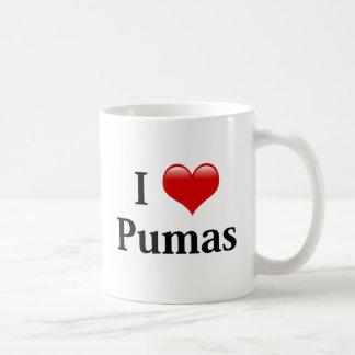 I Heart Pumas Coffee Mug