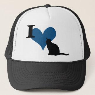 I Heart Pussy Cat Trucker Hat