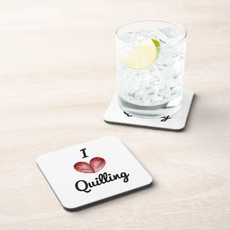 I (heart) Quilling, Coaster Set of 6