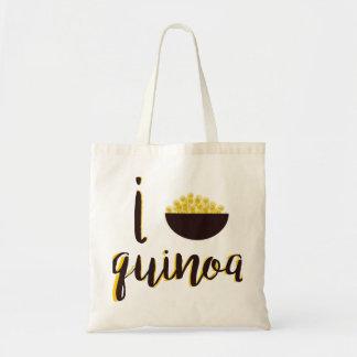 I [heart] Quinoa tote bag