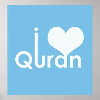 I Heart Quran Poster (matte)