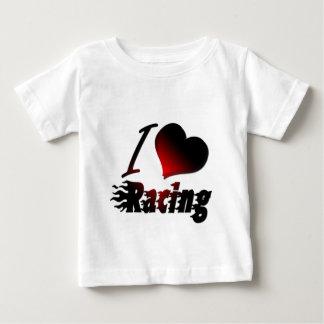 I Heart Racing #1 Baby T-Shirt