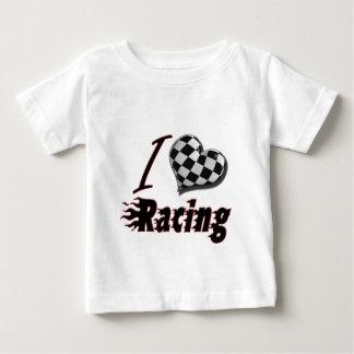 I Heart Racing #2 Baby T-Shirt