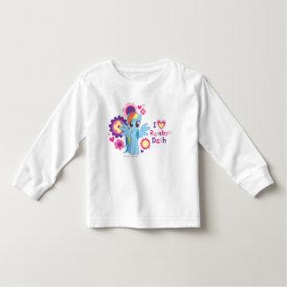 I Heart Rainbow Dash Tee Shirt