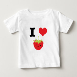 I Heart Raspberries Baby T-Shirt