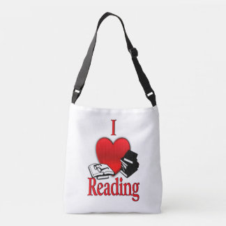I Heart Reading Crossbody Bag