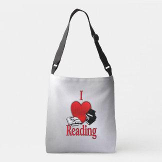 I Heart Reading Crossbody Bag