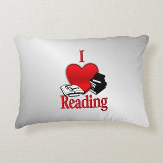 I Heart Reading Decorative Pillow