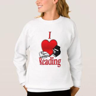 I Heart Reading Sweatshirt