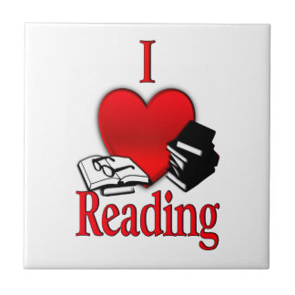 I Heart Reading Tile