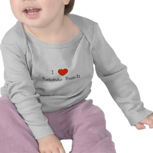 I Heart Redondo Beach Tee Shirt