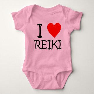 """""""I heart Reiki"""" baby jersey bodysuit"""