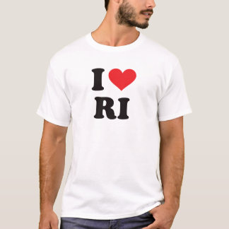 I Heart RI - Rhode Island T-Shirt
