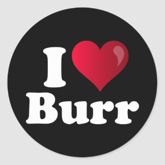 I Heart Richard Burr Classic Round Sticker