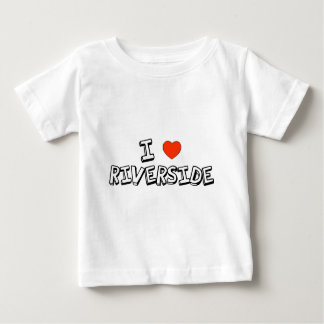 I Heart Riverside Baby T-Shirt