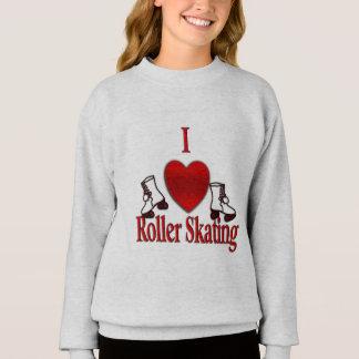 I Heart Roller Skating Sweatshirt
