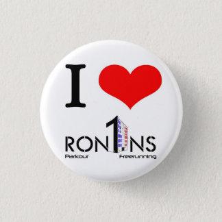 I heart ron1ns 1 inch round button