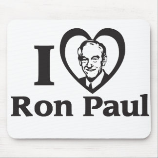 I HEART RON PAUL - Mousepad