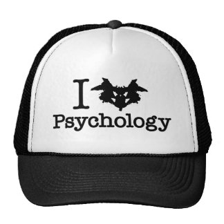 I Heart (Rorschach Inkblot) Psychology Trucker Hat