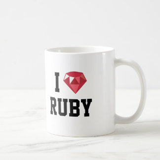I Heart Ruby Geek Mug